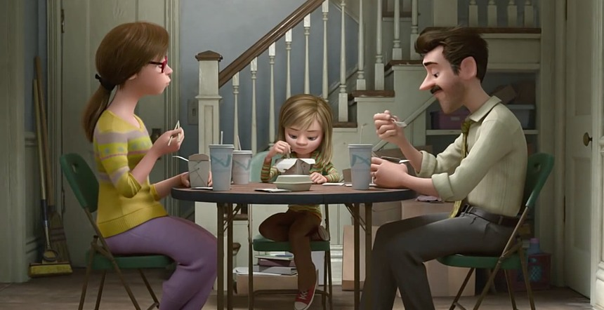 Disney-Pixar Inside Out dinner