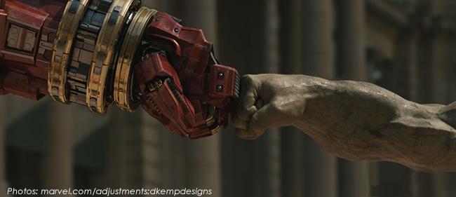 Hulk fist bump